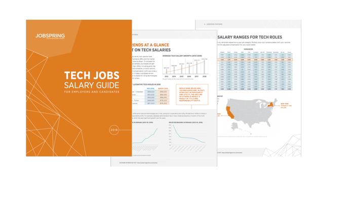 Tech Salaries 2018 | Jobspring Partners